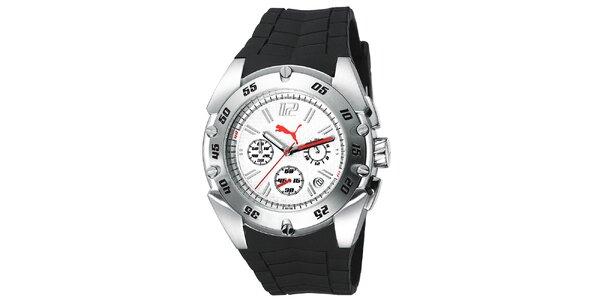 Pánské sportovní hodinky s plastovým řemínkem Puma