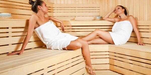 Až 120 minut parádního relaxu s wellness i jídlem