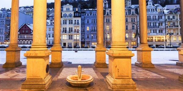 Relax ve Varech u kolonády s polopenzí i wellness