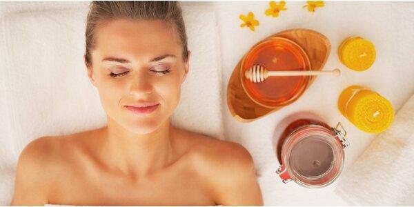 Medová masáž zad: voňavé uvolnění těla i mysli