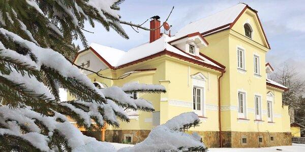 3–6denní rodinný lyžařský pobyt v Beskydech