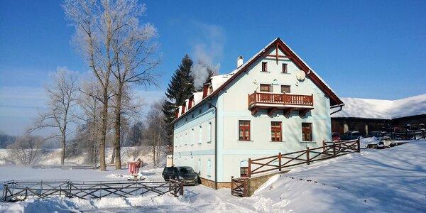 Zima nebo jaro ve stylovém mlýně na Vysočině