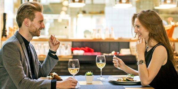 Gurmánský pobyt s 11chodovým menu a wellness