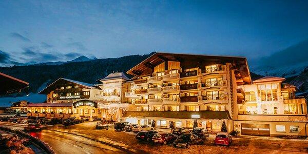 Na lyže do 4* hotelu Alpenhotel Kindl v Rakousku