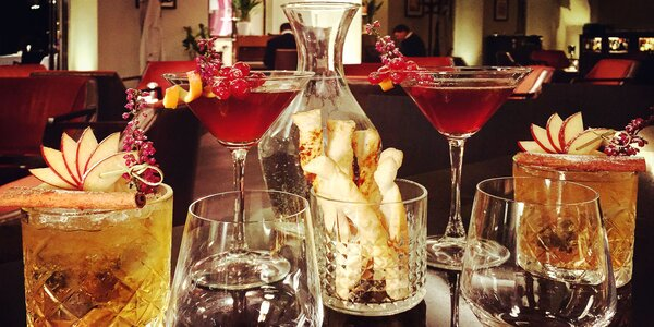 Piánový večer s koktejly a dobrotami pro dva
