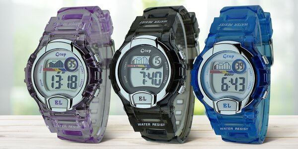 b851b45a0b7 Voděodolné digitální hodinky pro děti