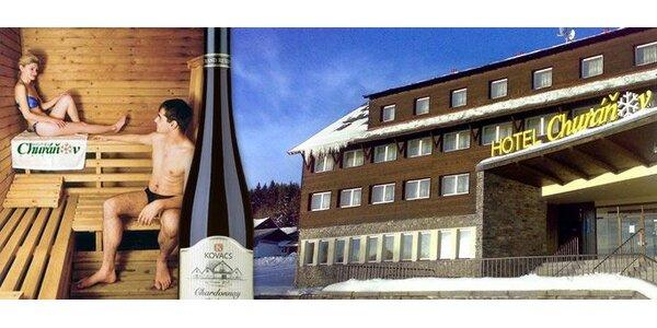 1995 Kč za 3 dny pro 2 v hotelu Churáňov*** Superior v samém centru Šumavy.