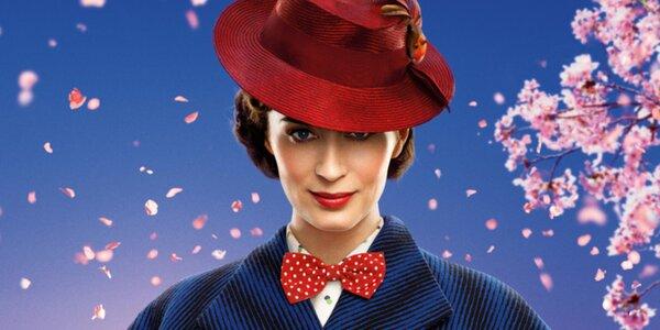 Vstupenka na rodinný film Mary Poppins se vrací