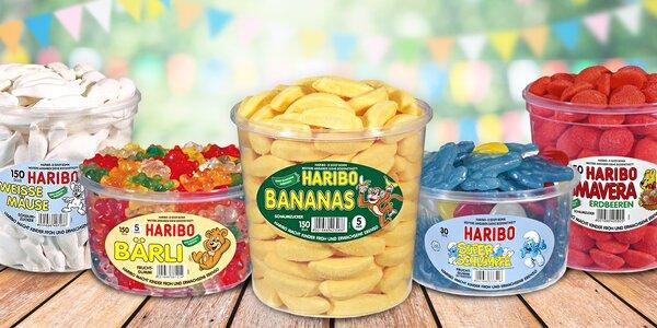 Ovocné želé Haribo: až 39 druhů oblíbených pamlsků