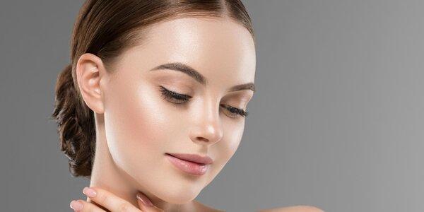 Kosmetické ošetření včetně barvení obočí či řas