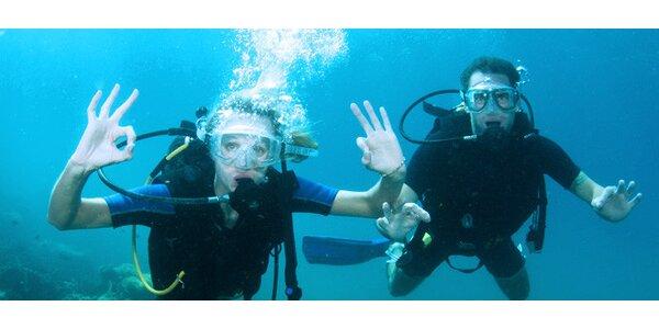 Potápění s instruktorem na Donbasu či Výklekách
