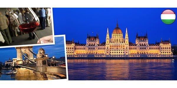 3denní zájezd na festival vín do Budapešti