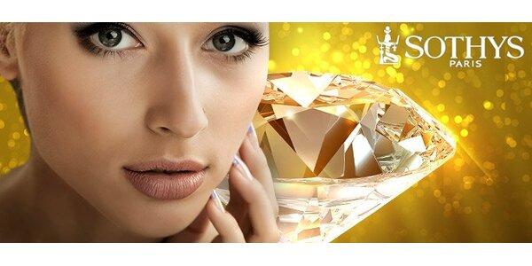 499 Kč za diamantovou mikrodermabazi a luxusní ošetření kosmetikou Sothys!