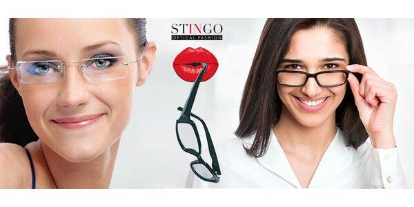 Brýlové čočky - ztenčené plastové i multifokální