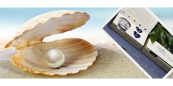 Sada šperků s perlou přání včetně dopravy