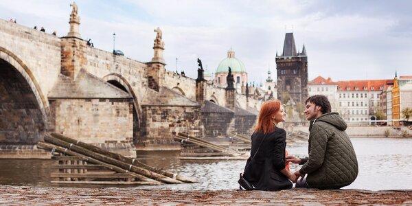 Pobyt v Praze pro 2–4 os i romantický balíček