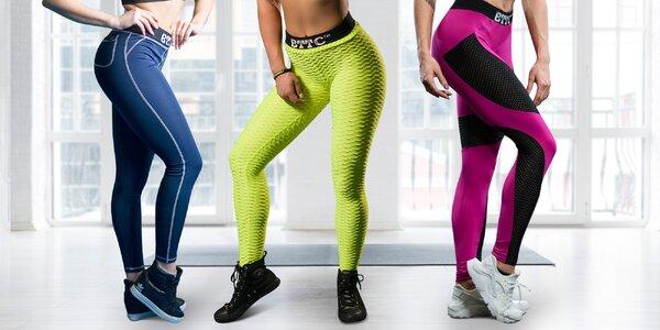 Butt commando: fitness legíny s push-up efektem