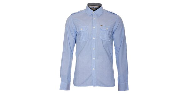 Pánská nebesky modrá košile Timeout
