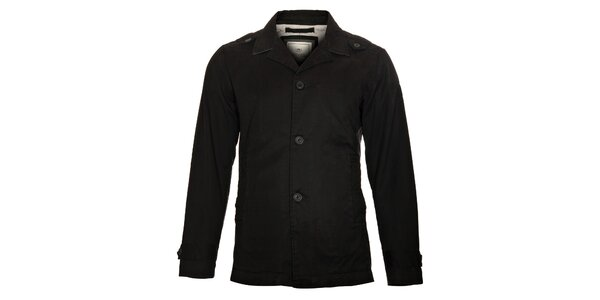 Pánský černý kabátek Timeout