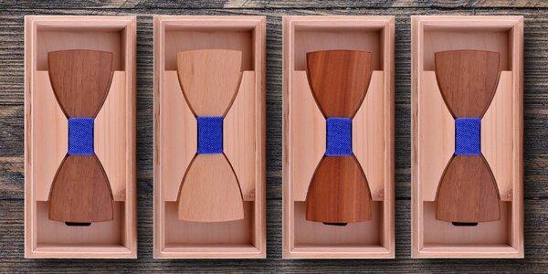 Ručně vyrábění dřevění motýlci z ořechu i dubu