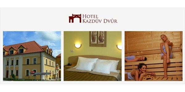 3590 Kč za dvě noci s polopenzí pro dva v luxusním hotelu Kazdův Dvůr****!