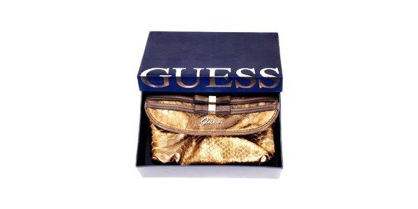 Bronzová peněženka značky Guess