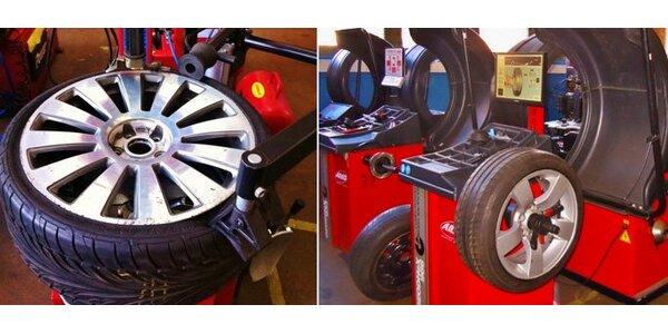 249 Kč za kompletní přezutí pneumatik vašeho vozidla.