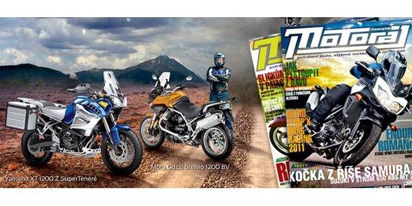 Roční předplatné časopisu Motoráj pro všechny milovníky rychlých strojů!