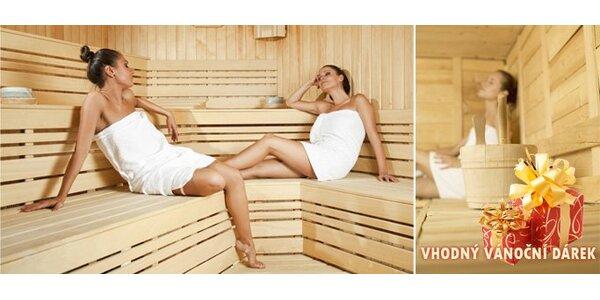 199 Kč za 120 minut v luxusní finské sauně až pro DVĚ osoby!