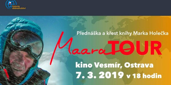 Přednáška horolezce a cestovatele Marka Holečka