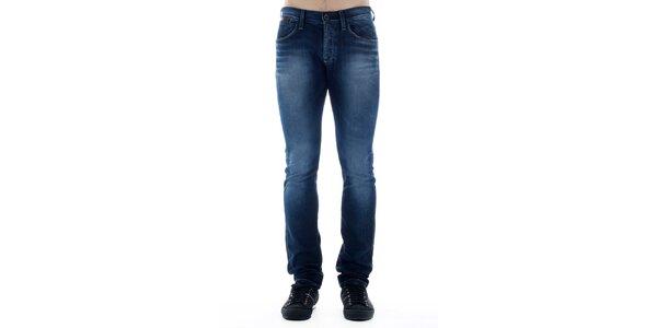 Pánské tmavě modré skinny džíny Freesoul