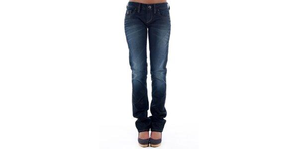 Dámské tmavě modré džíny Freesoul