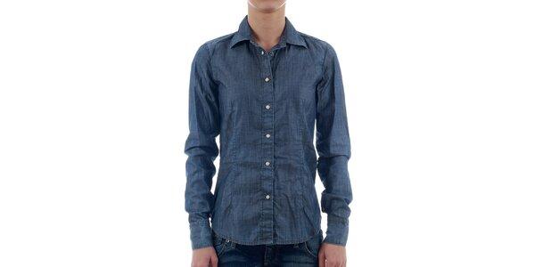 Dámská modrá džínová košile Freesoul