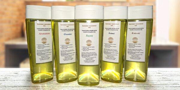 Luxusní masážní oleje pro intimní chvíle: 5 druhů