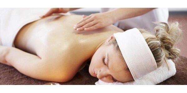 259 Kč za relaxační masáž a pobyt v infrasauně v Plzni
