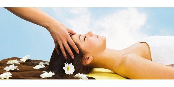 Kraniosakrální terapie - 55minutová jemná masáž