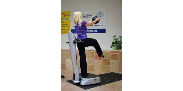 75 Kč za 15min. cvičení na VibroGymu s osobním trenérem v hodnotě 125 Kč