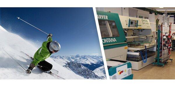 245 Kč za servis lyží v prvotřídní kvalitě od SKIpoint Montana!
