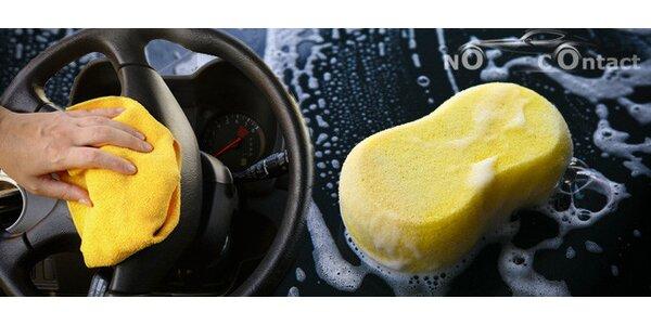 Šetrné a účinné bezkontaktní mytí vozu