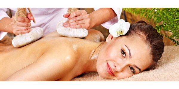 Tradiční thajská nebo olejová aromatická masáž