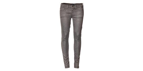 Dámské stříbrné džíny Pepe Jeans
