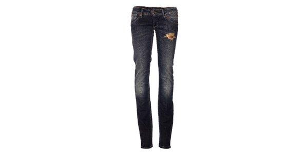 Dámské tmavě modré džíny Pepe Jeans