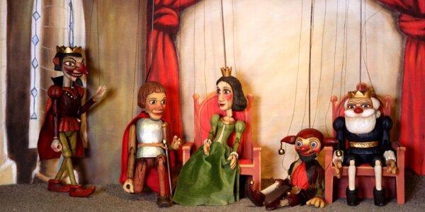 2 Vstupenky na loutkové představení pro děti