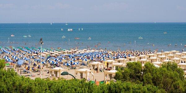 Itálie, Rosolina Mare: týden v apartmánu pro 4 os.