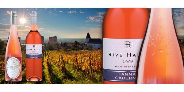 199 Kč za DVĚ znamenitá růžová vína z Francie!