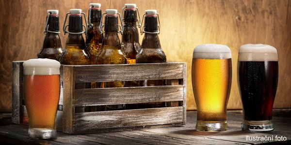 Otevřený voucher na výběr piv: 600 a 1000 Kč