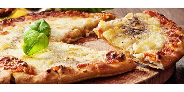 DVĚ výborné pizzy dle výběru