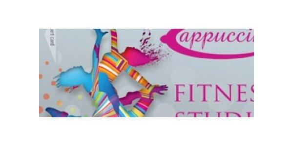 Lekce skupinového cvičení v příjemném prostředí Fitness studia Cappuccini
