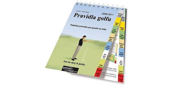 Hrajte golf jednoduše, podle pravidel. Obrázky vám napoví a pomůžou.