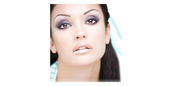 Permanentní make-up. Voucher v hodnotě 1000 Kč za 450 Kč